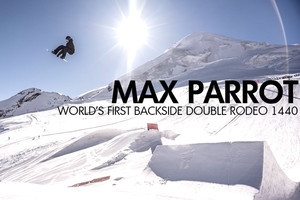 Max Parrot: World's First Double Backside Rodeo 1440