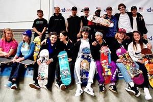 USA Olympic Skateboarding Team Announced