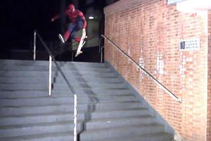 Spider-Man Skateboarding
