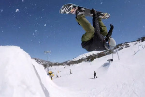 Seb Toots at Perisher