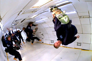 Skateboarding in Zero Gravity