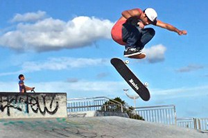 MAROUBRA SKATEPARK WITH MITCH FABER & FRIENDS