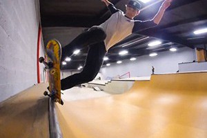 SHANE O'NEILL CKECKS IN AT P-ROD'S SKATEPARK