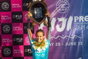 Sally Fitzgibbons Wins Fiji Pro 2014