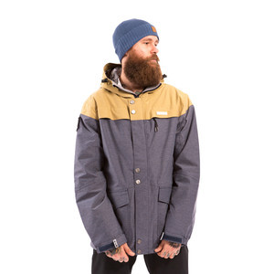 3CS Tomahawk Men's Snowboard Jacket — Indigo