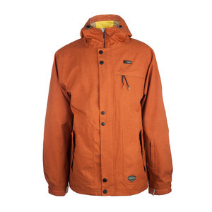 3CS Tomahawk Men's Snowboard Jacket - Burnt Orange