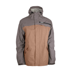 3CS Combi-Nation Men's Snowboard Jacket - Tobacco