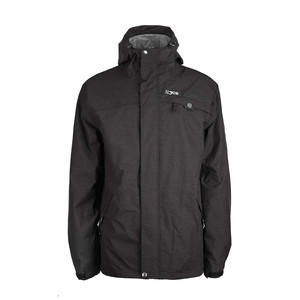 3CS Nation Men's Snowboard Jacket - Black