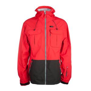 3CS Plunder Men's Snowboard Jacket - Signal Red