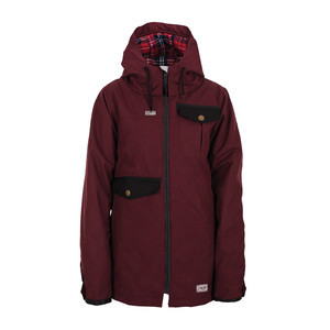 3CS Pret-A-Porter Women's Snowboard Jacket 2017 - Dark Berry