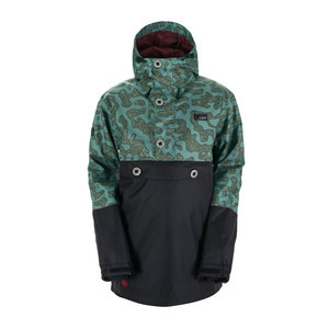 3CS 5-11 RDS Anorak Snowboard Jacket 2018 - Security Camo