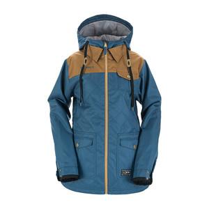 3CS Pret-A-Porter Women's Snowboard Jacket 2018 - Petrol