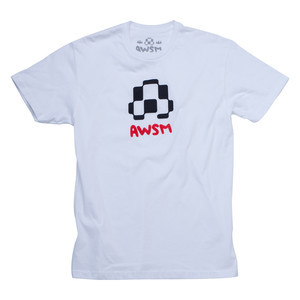 AWSM Logo T-shirt - White