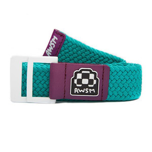 AWSM Nicole Belt — Aqua/Purple