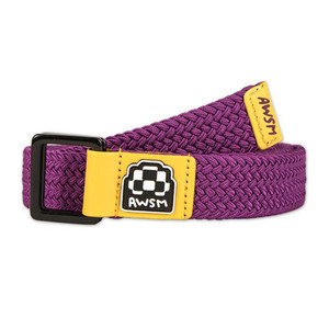 AWSM Nicole Belt — Purple/Yellow
