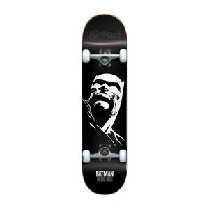 "Almost Dark Knight 8.0"" Premium Complete Skateboard - Black"