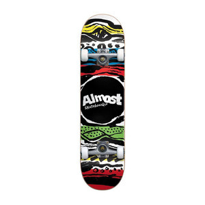"Almost Stripe Out 7.25"" Complete Skateboard - Multi"