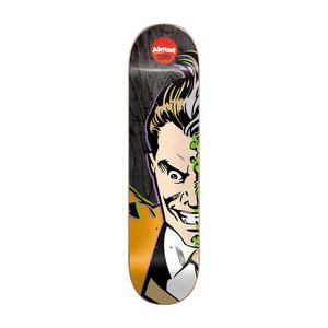 """Almost Cooper Superhero Splitface 8.0"""" R7 Skateboard Deck - Two-Face"""