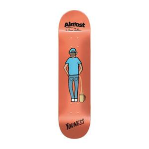 """Almost Youness Jean Julien 8.0"""" Skateboard Deck"""