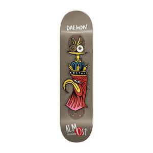 """Almost Daewon Bird Shits Impact Plus 8.0"""" Skateboard Deck"""
