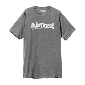 Almost Worn Out Logo T-Shirt - Athletic Heather