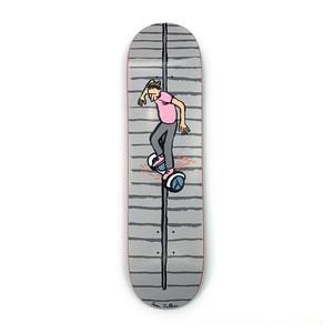 "Almost x Jean Jullien Stairs 8.0"" Skateboard Deck"