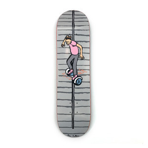 "Almost x Jean Jullien Stairs 8.0"" Skateboard Deck"