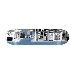 "Almost Mullen Stick-o-Rama 8.0"" Skateboard Deck"
