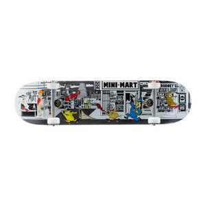"Almost Stuck-O-Rama 7.75"" Complete Skateboard"