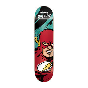 """Almost Willow Sketchy Flash 7.75"""" Skateboard Deck"""