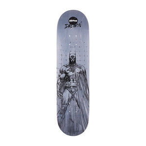 "Almost Daewon Batman Pencil Sketch 8.125"" Skateboard Deck"