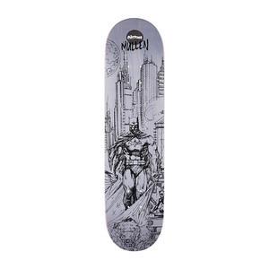 "Almost Mullen Batman Pencil Sketch 8.0"" Skateboard Deck"