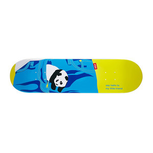 """Enjoi Little Friend 8.0"""" Skateboard Deck - Yellow"""