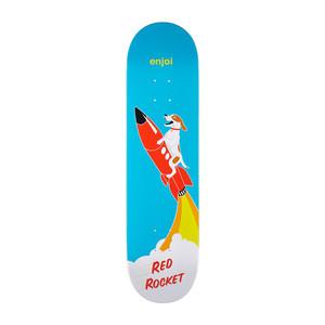 "Enjoi Red Rocket 8.125"" Skateboard Deck - Blue"