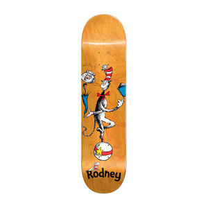 "Almost x Dr. Seuss Cat Ball 8.25"" Skateboard Deck - Rodney"