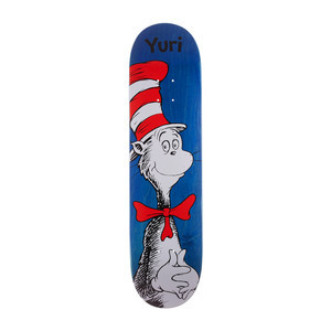"Almost x Dr. Seuss Cat in the Hat 8.0"" Skateboard Deck - Yuri"