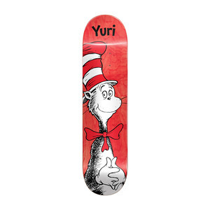 "Almost x Dr. Seuss Cat in the Hat 8.125"" Skateboard Deck - Yuri"
