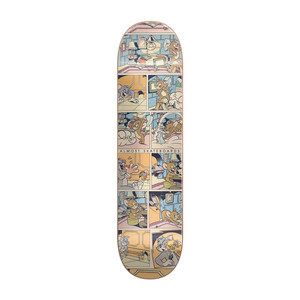 "Almost x Tom & Jerry Comic Strip 8.125"" Skateboard Deck - Yuri"