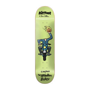 "Almost x Jean Jullien Monsters 8.38"" Skateboard Deck - Cooper"
