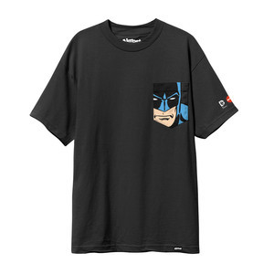 Almost Batman Pocket T-Shirt — Black