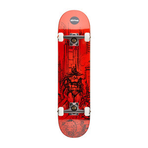"Almost Batman Jim Lee 7.75"" Complete Skateboard - Red"