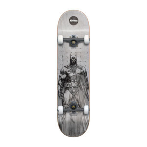 "Almost Batman Jim Lee 8.0"" Complete Skateboard - White"