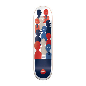 "Almost Youness Group Text 8.0"" Skateboard Deck"