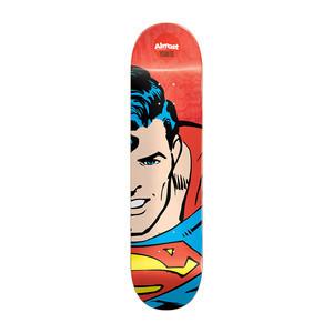 "Almost Youness Superhero Splitface 8.0"" Skateboard Deck - Superman"