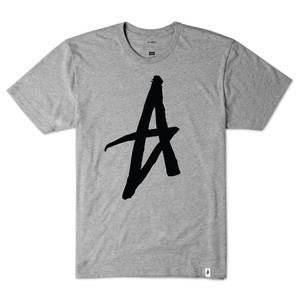 Altamont Decade Icon T-Shirt - Grey Heather