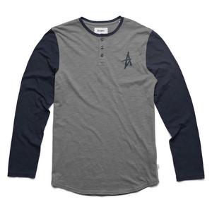 Altamont Spansive Henley - Navy/Grey