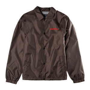 Emerica x Chocolate Dawbber Coaches Jacket - Brown