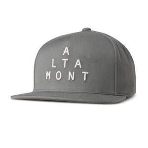 Altamont Alpha Snapback Cap - Gravel