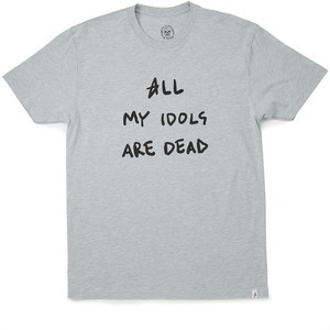 Altamont Dead Idols T-Shirt - Grey/Heather