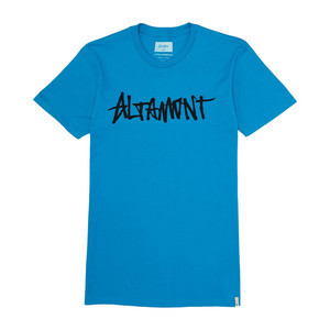 Altamont One Liner T-Shirt - Turquoise